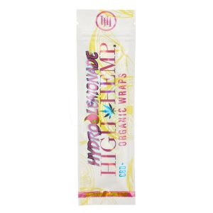 High Hemp Wraps Hydro Lemonade