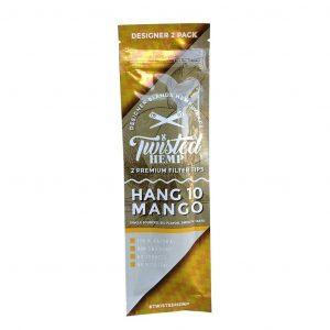 Twisted Hemp Wraps Hang 10 Mango