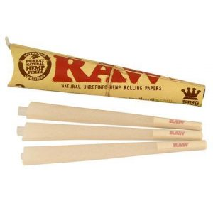 Raw Cones 6 Count Pack 5.99 Organic Hemp