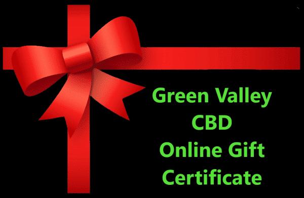 cbd gift certificate